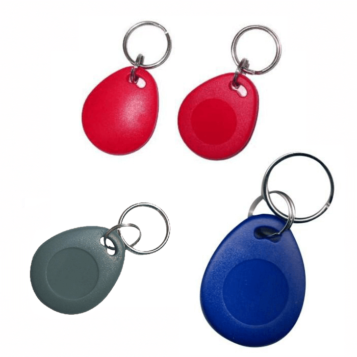 1K keyfobs 13.56mhz 1K ISO14443A RFID NFC contactless S50 fobs (pack of 10)