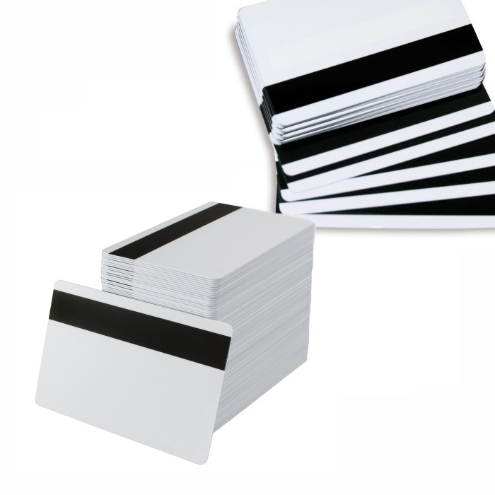 magnetic stripe cards HiCo mag swipe cards for loyalty, access control EPOS (pack of 100)