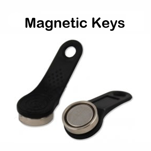 Magnetic dallas keys ibutton for EPOS system cash registers tills fob (pack of 5)