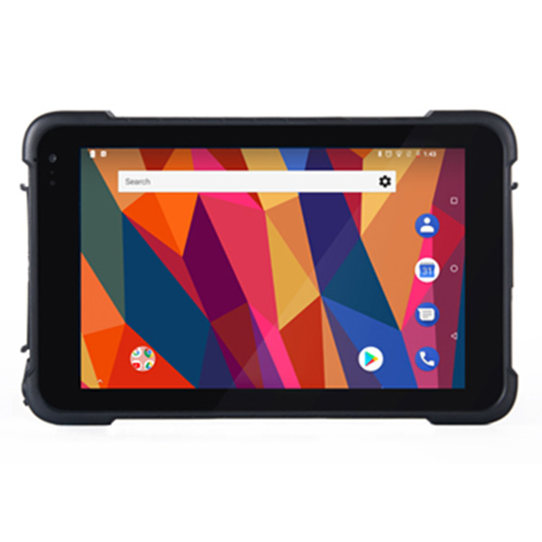 Rugged android 8.1 GMS certified industrial waterproof 8inch tablet with 4g GPS Wifi bluetooth camera
