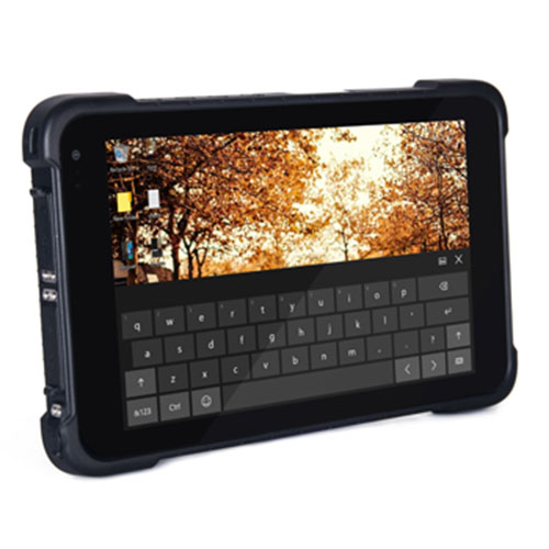 8 inch rugged windows 10 waterproof tablet with 4G Wifi bluetooth GPS camera IP67 rating